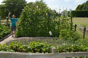 Bob Jones at Allotments (1)